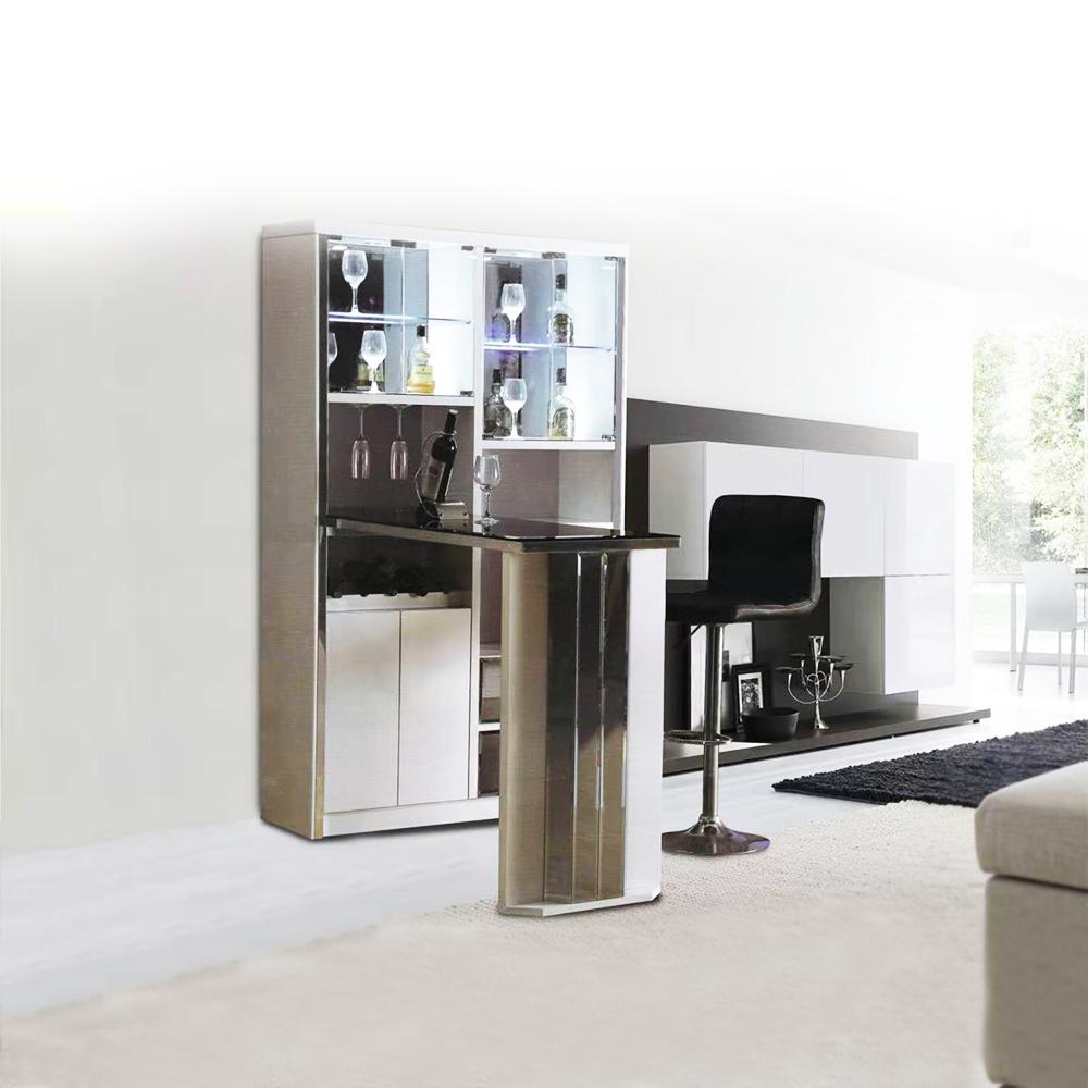 Bar Counter; (180x112x190)cm, White