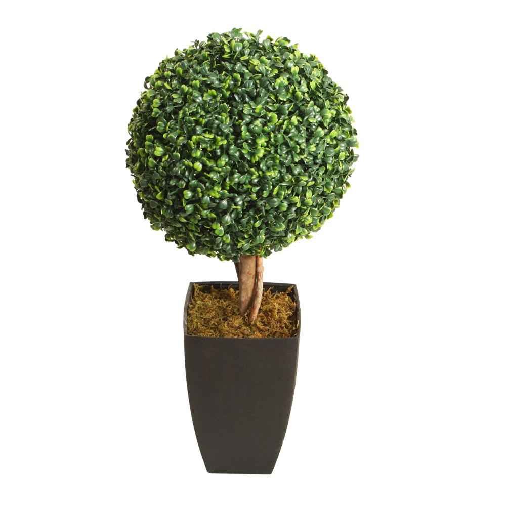 Boxwood Decorative Potted Flower: 60cm 1