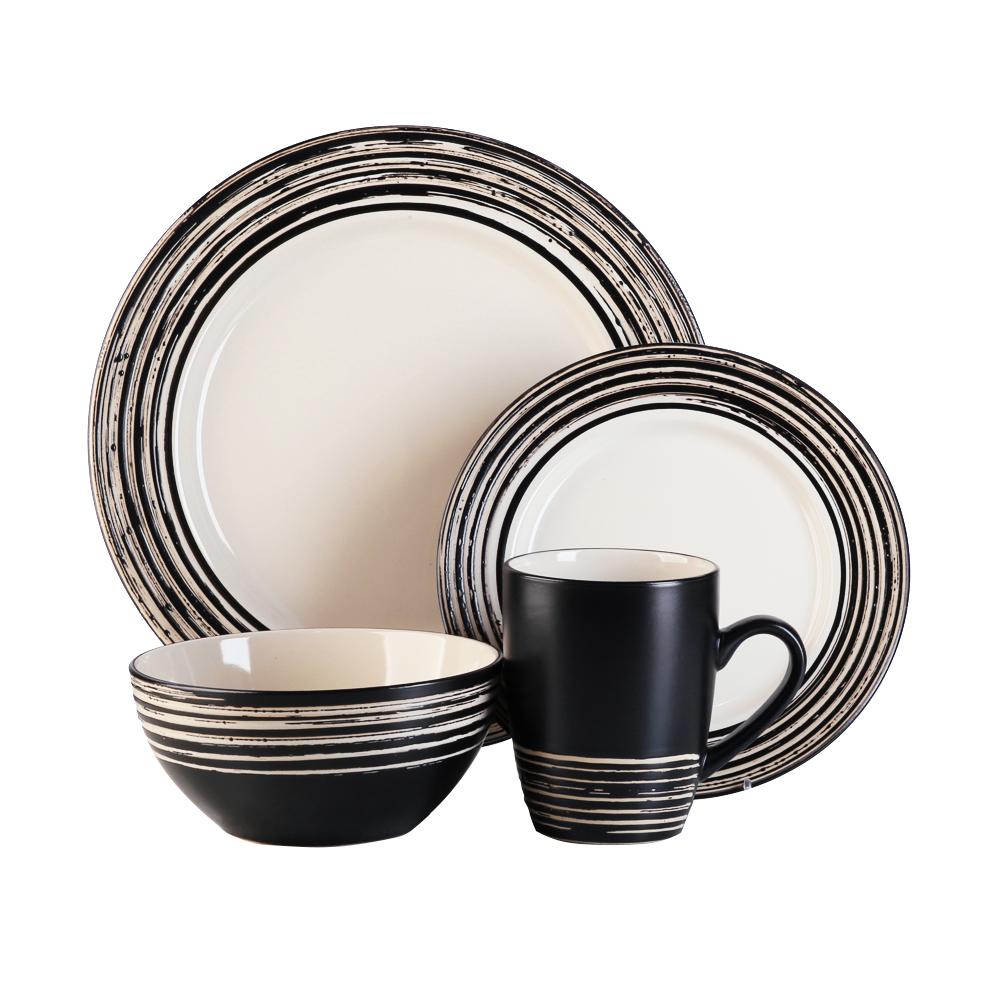 16 Pcs Dinner Set – Tahiti Latte/9249 1