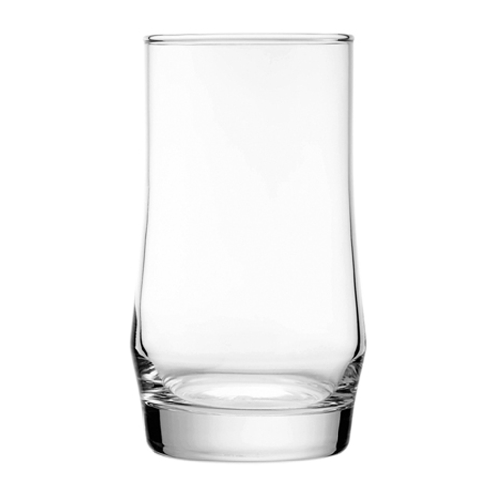 Scirocco Rock: Long Drinking Glass Set: 6pc, 410ml