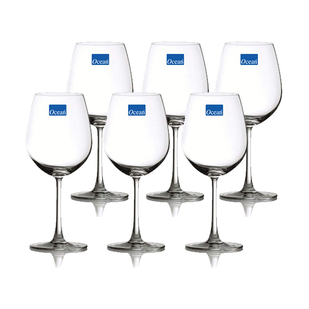 Madison Bordeaux: Wine Glass Set: 6pcs 600ml 1