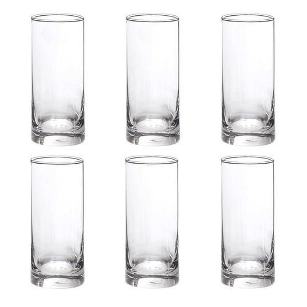 Trinity:Hi Ball:Clear Glass Set: 6pc, 380ml 1