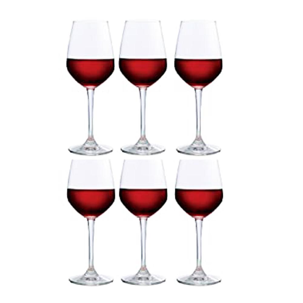 Lexington Red Wine: Wine Glass Set:6pc,455ml