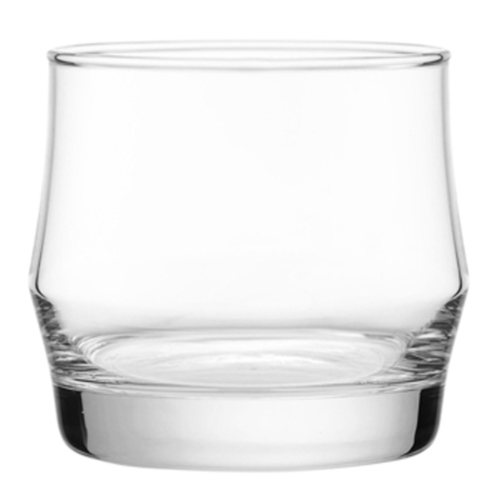Scirocco Rock: Clear Glass Set: 6pc, 340ml