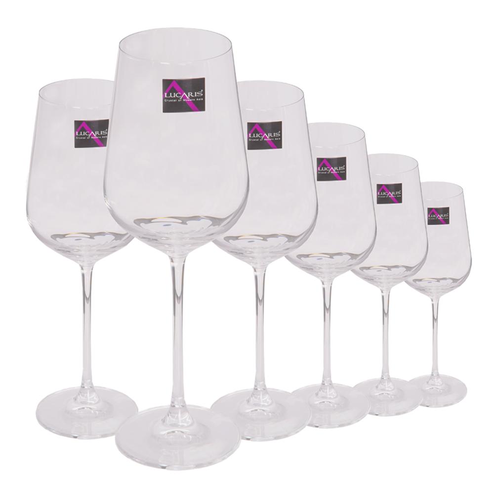 HK HIP-Cabernet: Stem Glass Set-545ml: 6pcs 1