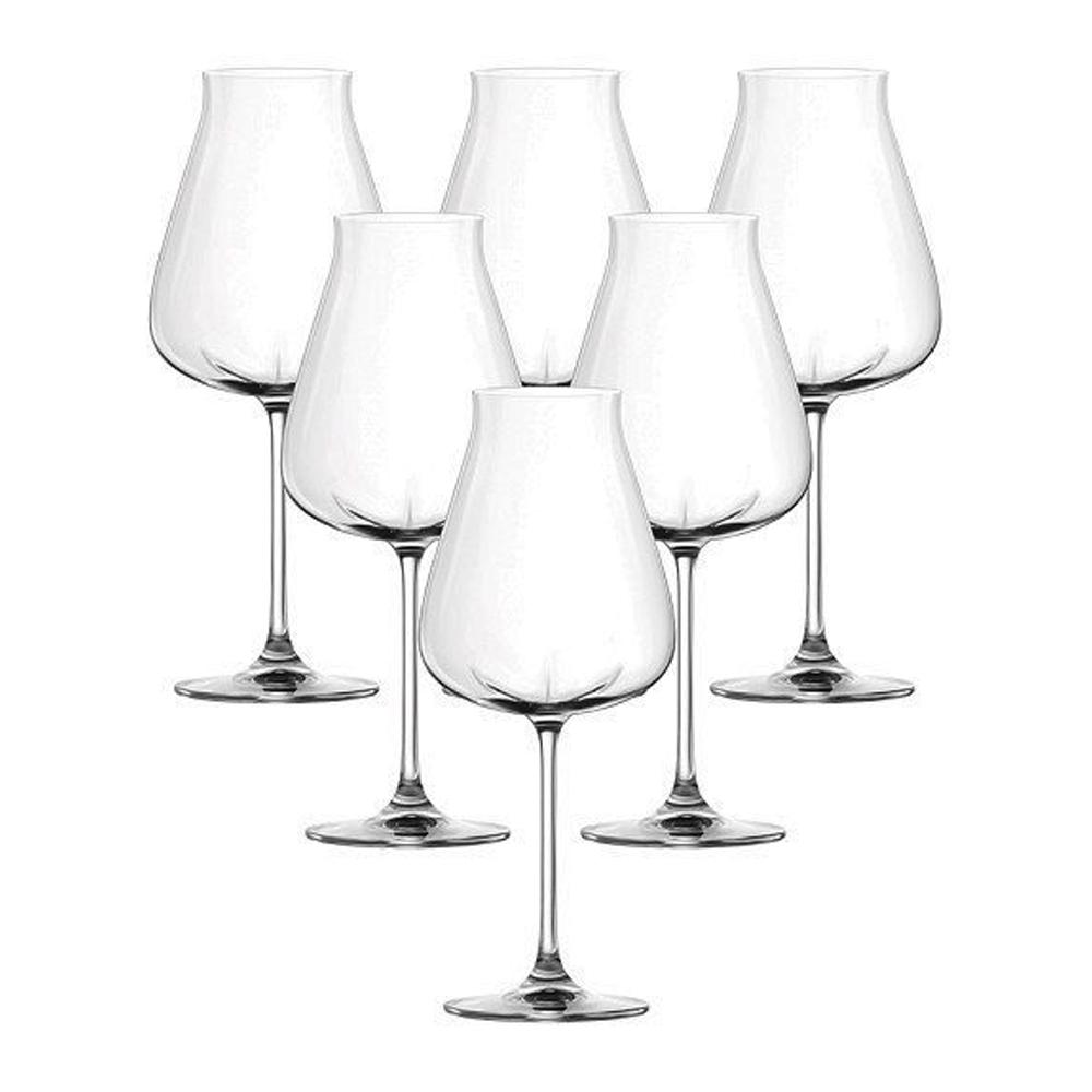 Desire-Robust Red: Stem Glass Set 700ml: 6pcs 1