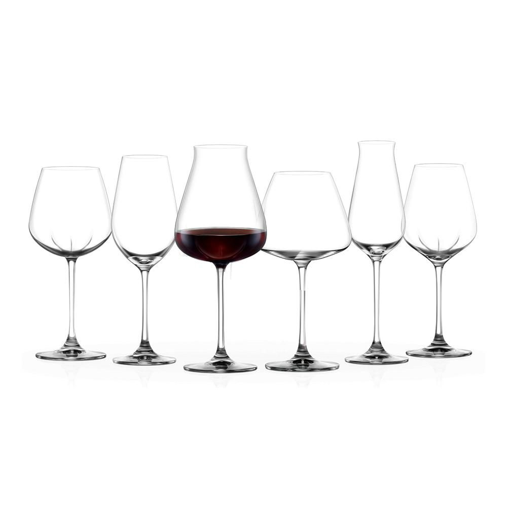 Desire-Crisp White: Stem Glass Set 365ml: 6pcs