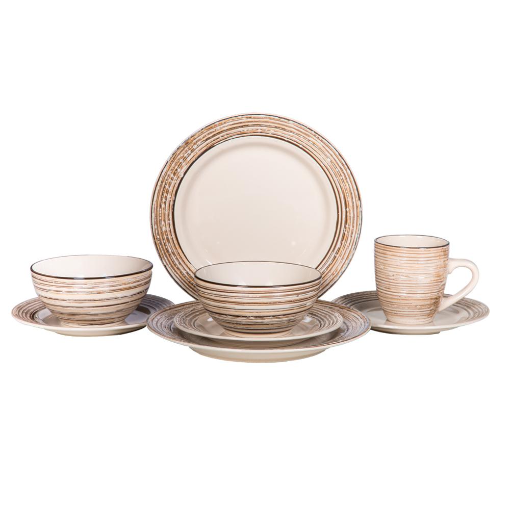 16 Pcs Dinner Set – Birch/8416 1
