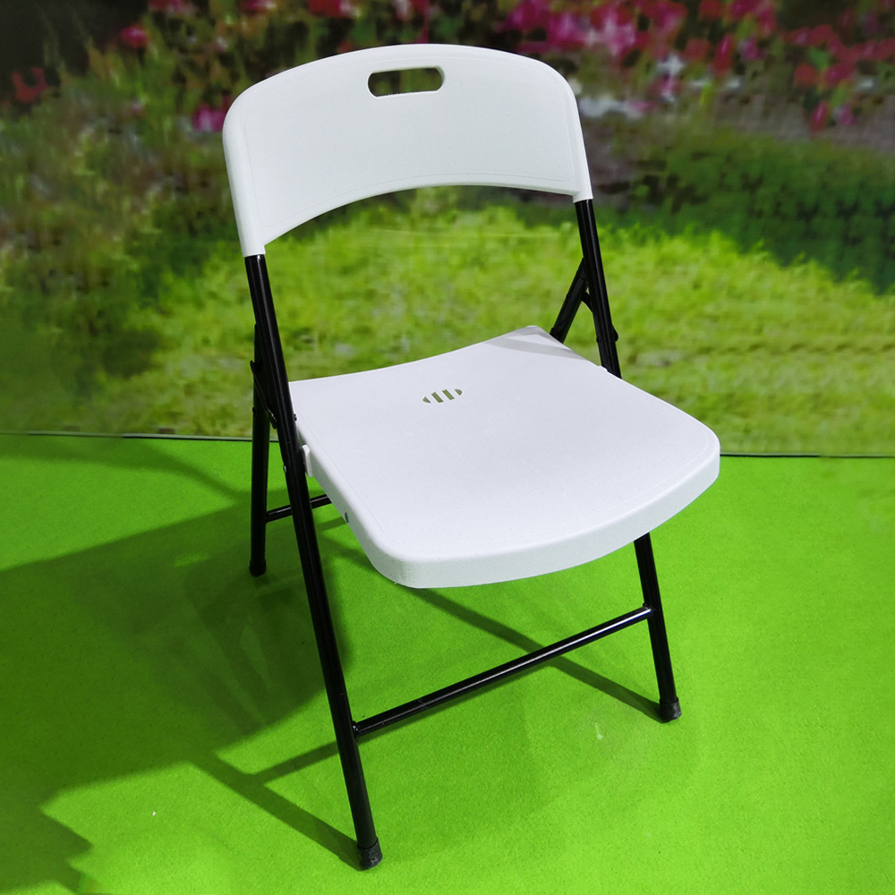 Outdoor Occasional Folding Injection Chair; (51x47x78)cm