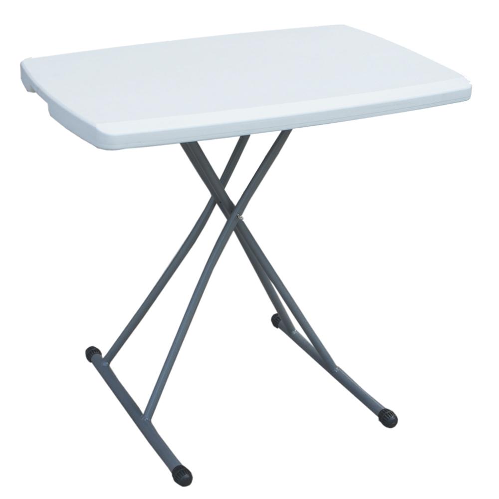 Outdoor Adjustable Folding Table; (76x50x54-72)cm 1