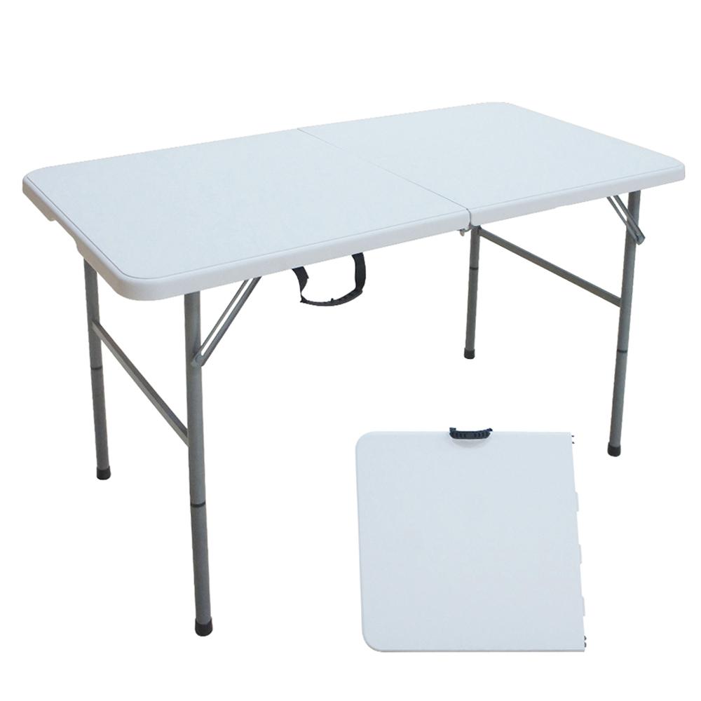 Outdoor Folding Table; (122x61x74)cm