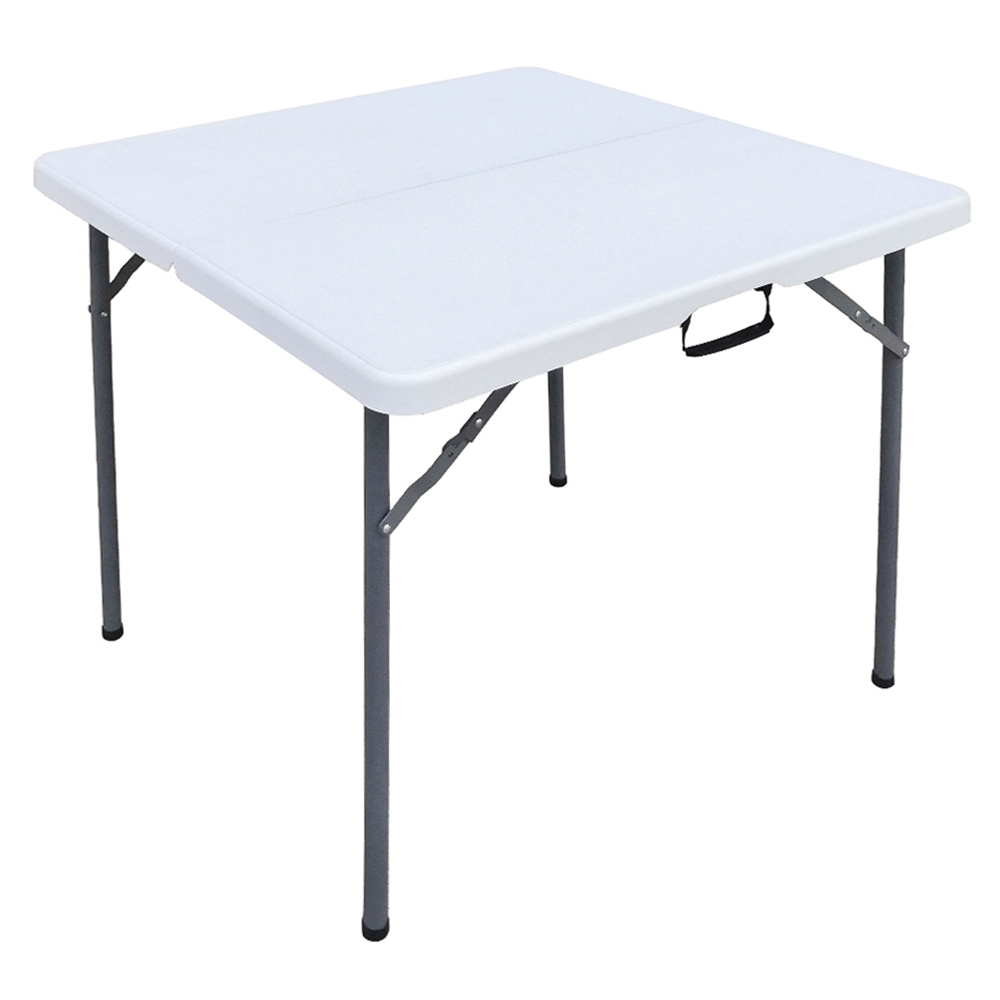 Outdoor Folding Square Table; (86x86x71)cm 1