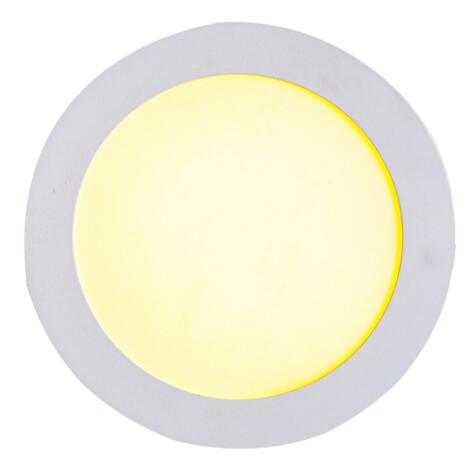 LED Surface Round Panel Light; 6W, 4000K  1