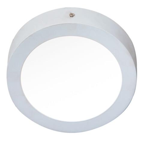 LED Surface Round Panel Light; 12W, 3000K  1
