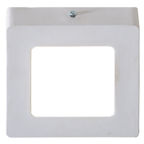 LED Surface Square Panel Light; 6W, 3000K  1