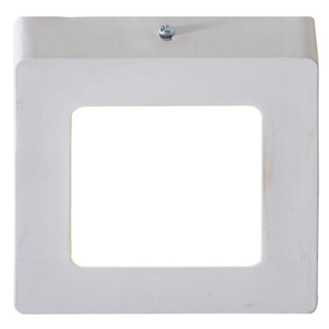LED Surface Square Panel Light; 12W, 4000K  1