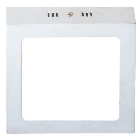 LED Surface Square Panel Light; 12W, 3000K  1