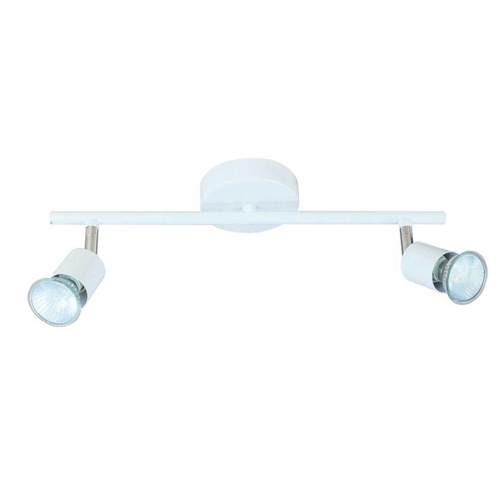 Domus: Metal Spot Light: 35W, GU10 x 2, White 1