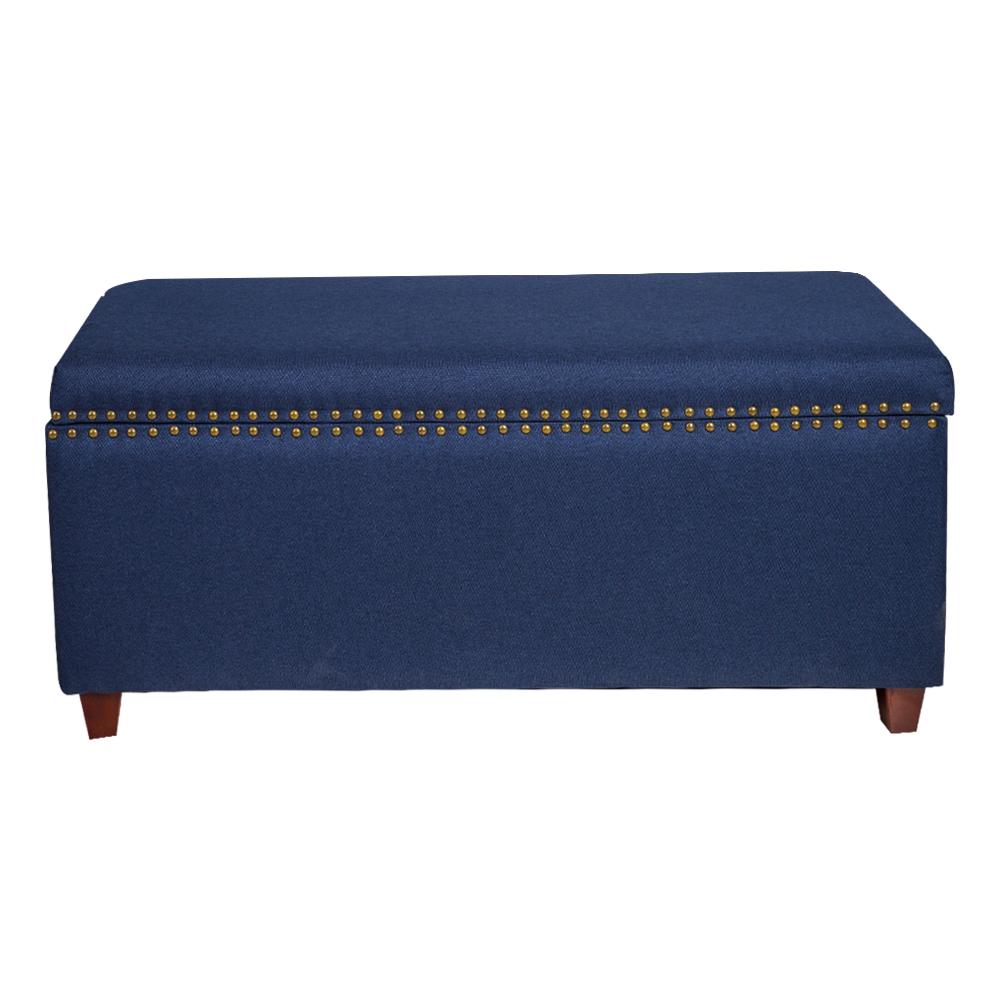 Fabric Storage Chest/Bench; (124.46×48.26×53