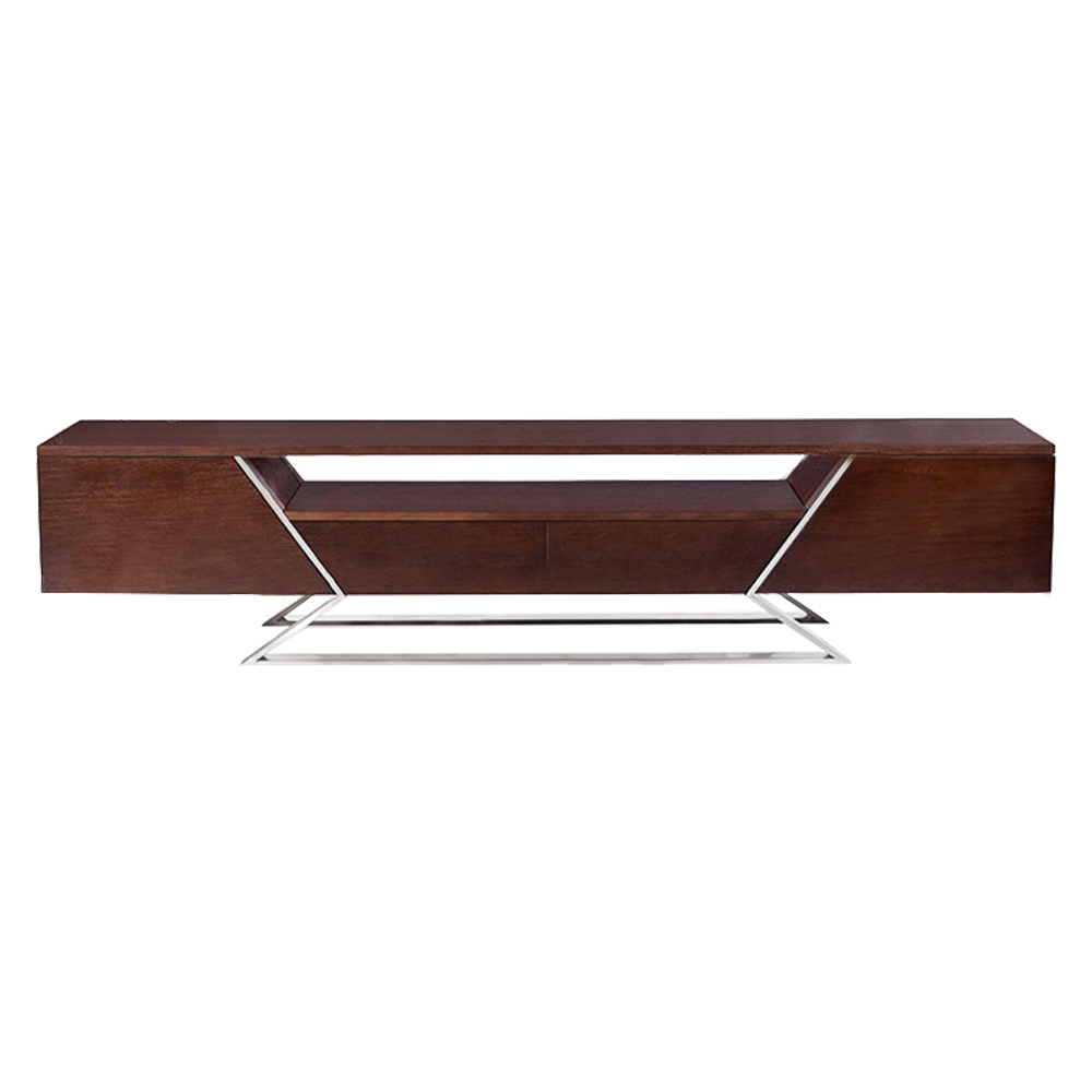 TV Cabinet: (180x40x40)cm, Walnut 1