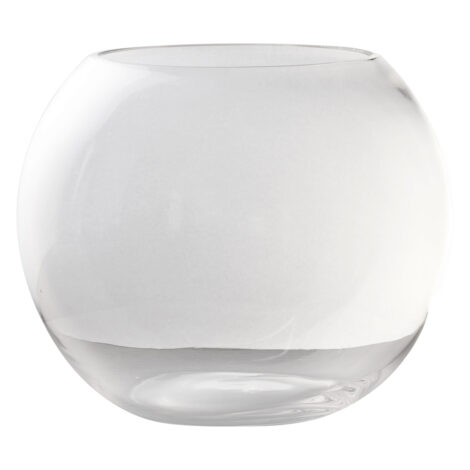 Domus: Clear Glass Vase: 21
