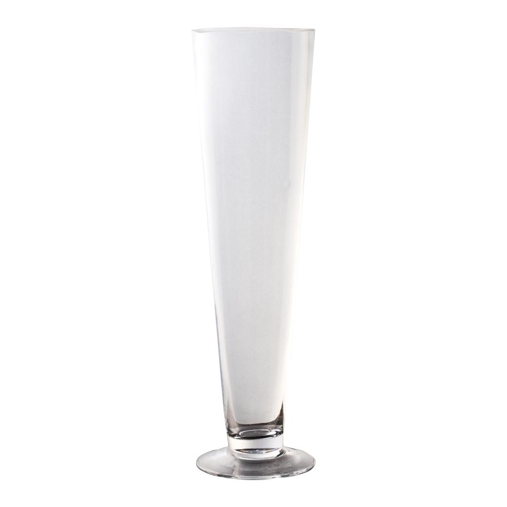 Domus: Clear Glass Vase: 40cm 1