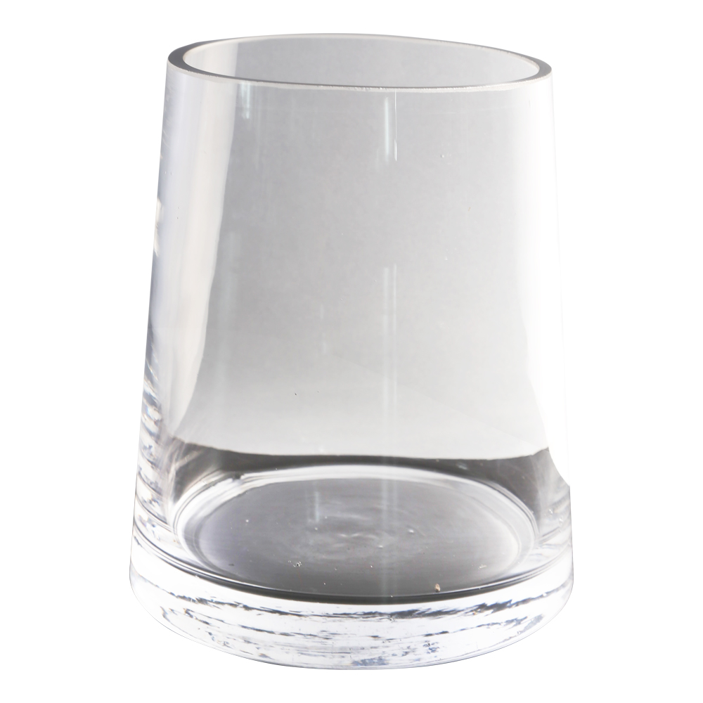 Domus: Clear Glass Vase: 13cm 1
