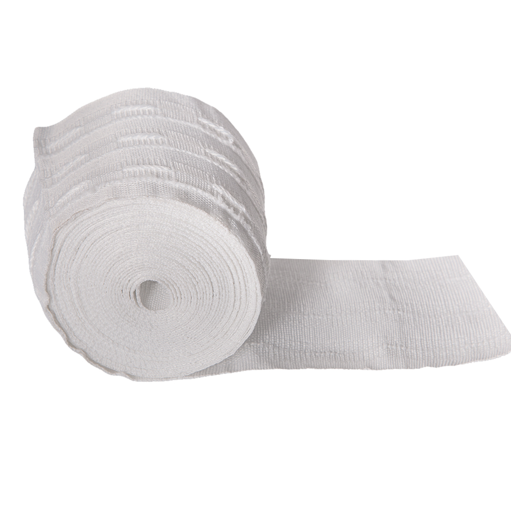 JNS: Curtain Tape, 80mm, White 1