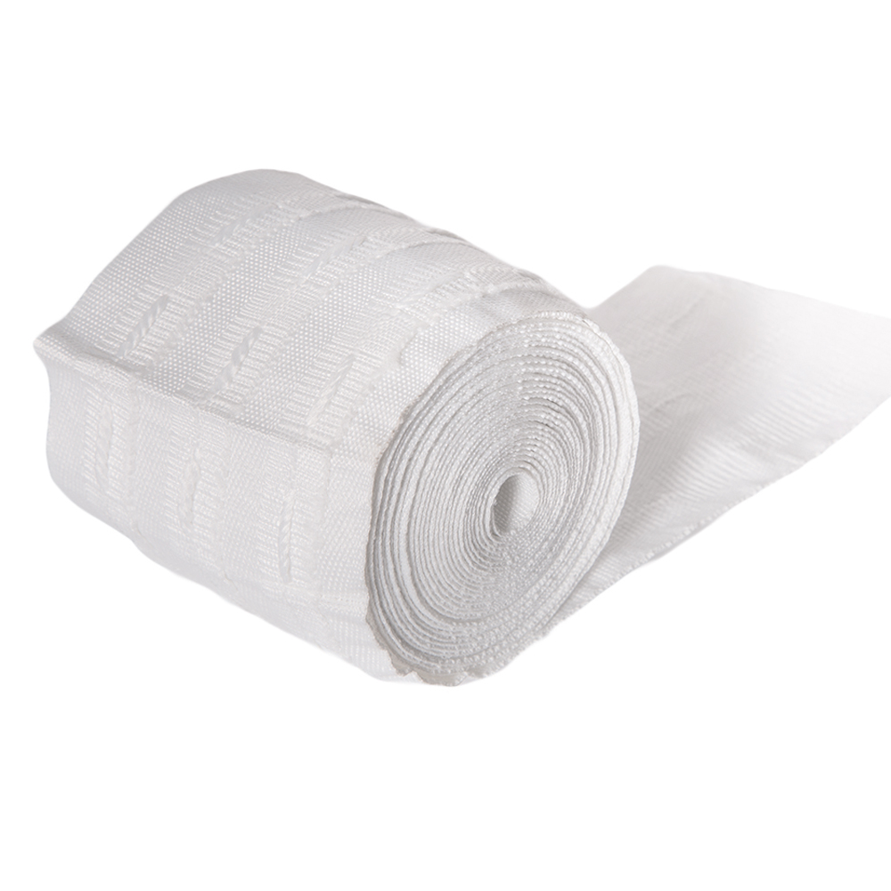 JNS: Curtain Tape, 80mm, White