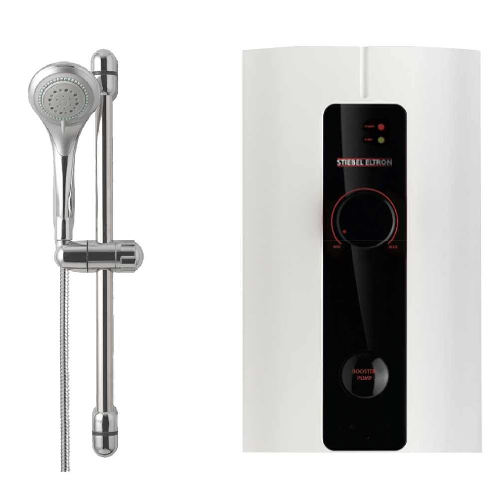 Stiebel: Instant Heater Shower with Pump IP45EC 1