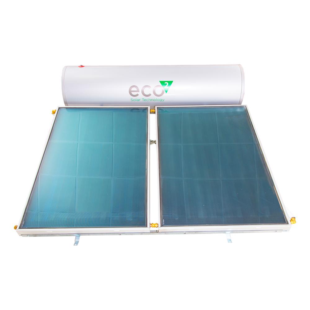 Calpak: ECO2 : Solar Water Heating System 300A/3ES15 (Flat Roof) 1