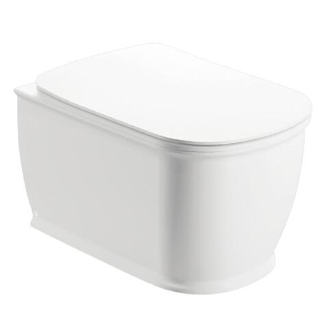 Genesis: WC Pan: Rimless Wall Hung, White 1