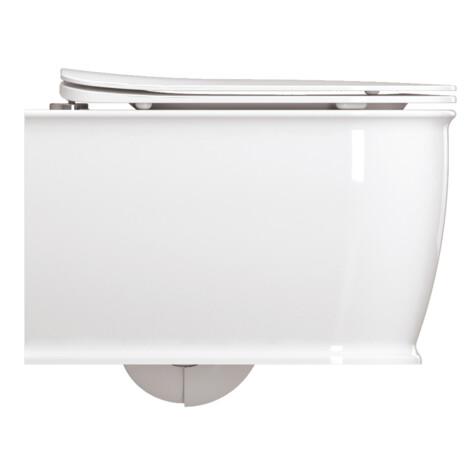 Genesis: WC Pan: Rimless Wall Hung, White