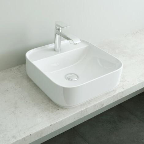 Tapis: Counter Top Basin, White