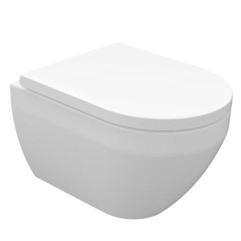 Tapis: Wall Hung WC Pan; White 1