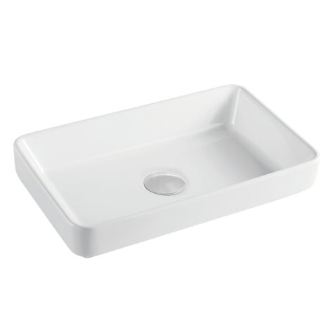 Tapis: Counter Top Basin : 1Tap Hole, White 1