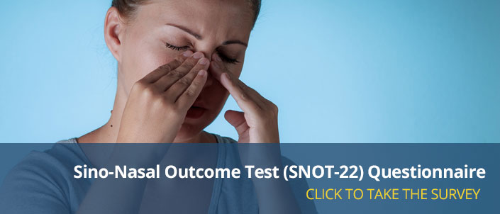 Sino-Nasal Outcome Test (SNOT-22) Questionnaire