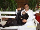 Dinesh Rawat as animal lover