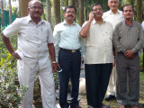 Dinesh Rawat with Childhood Friends