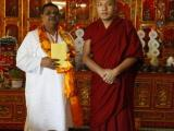 Dinesh Rawat with His Excellency Karmappa