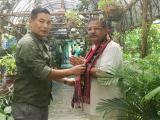 Environmentalist Dinesh Rawat with Mr. Senti