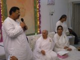 Dinesh Rawat with Brahma Kumaris