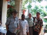 Dinesh Rawat with Dr. Allen W. Meerow, Mr Don Ellison & Mr. Michael Ferraro