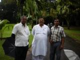 Dinesh Rawat with Mr. Shanta Perera at Royal Botanical Garden
