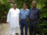 Dinesh Rawat with Mr. Speiro Dissanayake and Mr. Shanta Perera