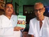 Historian Dinesh Rawat with writer Paramesh Choudhury