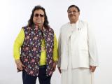 Dinesh Rawat with Bappi Lahiri