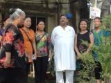 Dinesh Rawat with Nagaland delegates