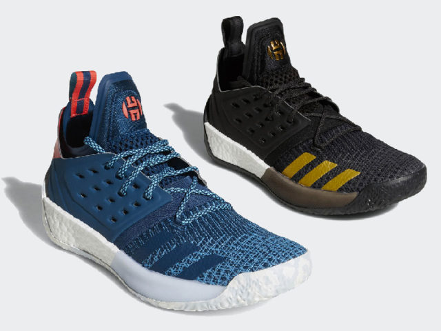 Two new colorways for the Harden Vol.2 drop this Sunday