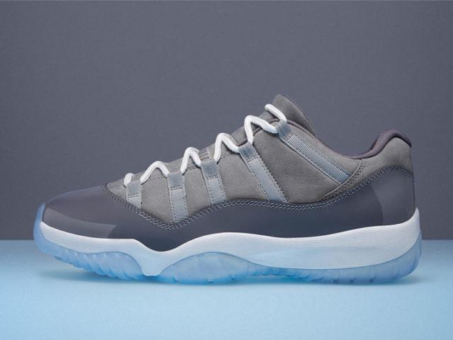 """Release Reminder: Air Jordan XI Retro Low """"Cool Grey"""""""